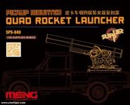 Vierfach-Raketenwerfer für Pickup