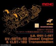 M911 C-HET 8V-92TA-90 Dieselmotor & CLBT-750 Getriebe