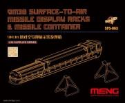 9M38 Surface-to-Air Rakete Ständer und Behälter