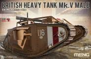 Britischer Mk.V Male Panzer