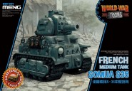 """Somua S35 Panzer """"World War Toons"""""""