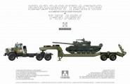 KrAZ 260V Panzertransporter mit T-55 AMV