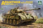 Panther A mittlere bis späte Produktion mit Zimmerit und Innendetails