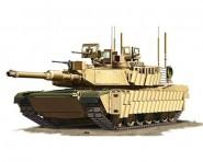 U.S. M1A2 SEP TUSKII MBT