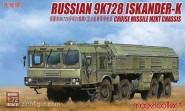 9M728 Iskander-K auf MZKT Chassis
