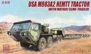 M983A2 HEMTT Traktor & M870A1 Anhänger