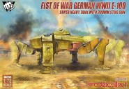 "E-100 mit 380mm StuG-Kanone ""Fist of War"""