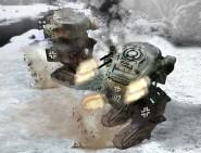 Blf-100A Light Fighting Mech - Fist of War