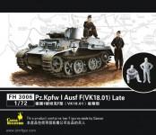 Panzer I Ausf.F mit 2 Figuren