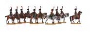Linien-Jäger der Elite-Kompanie zu Pferd
