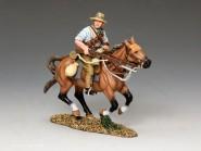 Neuseeländer zu Pferd im Angriff