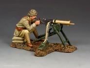 Türkischer MG-Schütze