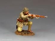 Türkischer Soldat - kniend, nachladend