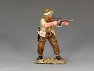 Gurkha Offizier mit Thommy Gun