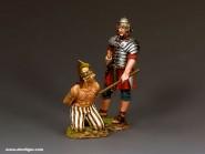 Römischer Legionär mit Gefangenem