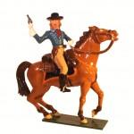 George Armstrong Custer zu Pferd