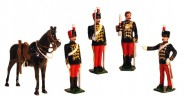 11th Prince Albert's Own Hussars - Kommandofiguren