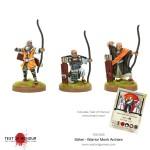 Sohei Kriegermönche Bogenschützen