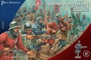 Französische Infanterie bei Agincourt - 1415-1429
