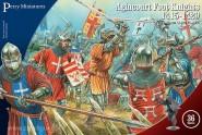 Ritter zu Fuß bei Agincourt - 1415-1429