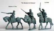 "Jeanne d'Arc, ""Bastard von Orleans"" & La Hire"