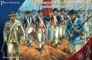 US Kontinental Infanterie 1776-1783