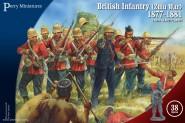 Britische Infanterie - Zulu-Krieg 1877-1881