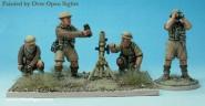 3 Inch Mörser mit Soldaten
