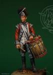 Britischer Trommler - 1775-83
