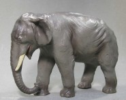 Elastolin: Alter grauer Elefant (Elastolin)