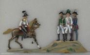 Schweizer, B.: Der Monarchenhügel bei Leipzig, 1813