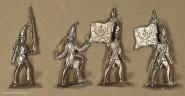 Diverse Hersteller: Grenadiere vorgehend, 1712 bis 1786