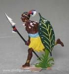 Spenkuch(B.Z.): Afrikanischer Krieger (Großfigur)