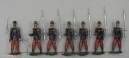 Heyde / Dresden: Infanterie im Marsch, 1870 bis 1871