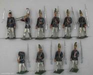 Heyde / Dresden: Grenadiere im Marsch, 1870 bis 1871