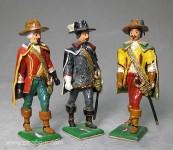 """Herst.unbekannt: Die """"Drei Musketiere""""!, 1618 bis 1648"""