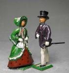 Herst.unbekannt: Biedermeier-Paar, 1815 bis 1870