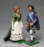 Herst.unbekannt: Aristokratisches Paar, 1823 bis 1843