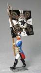Herst.unbekannt: Musketier-Fahnenträger, 1712 bis 1786