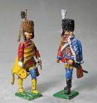 Herst.unbekannt: H.J. v. Zieten und Offizier der Zieten-Husaren, 1756 bis 1763