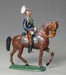 Heyde / Dresden: Sächsischer König Friedrich August III. zu Pferd, 1888 bis 1914