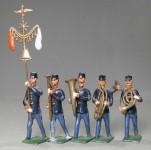 Diverse Hersteller: Musik der Infanterie, um 1900