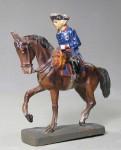 Elastolin: Fridericus Rex (Alte Fritz) zu Pferd, 1712 bis 1786