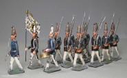 Heyde / Dresden: Garde-Grenadiere im Marsch, 1871 bis 1918