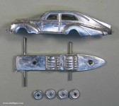 Automobil-Bausatz (plastisch), um 1950