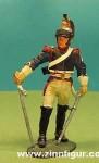 delPrado: Kürassier, Feldwebel, 1806, 2. Regiment, 1789 bis 1815