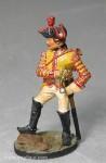Franklin Mint: Kürassier-Trompeter, abgesessen, 1712 bis 1786