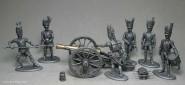 Mignot: Garde-Artillerie zu Fuß, 1804 bis 1815