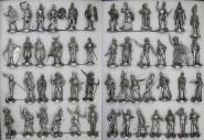 Franklin Mint: Die Soldaten der Weltgeschichte, 1580 v.Chr. bis 1973