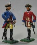 Herst.unbekannt: Der Unterstab, 1756 bis 1763